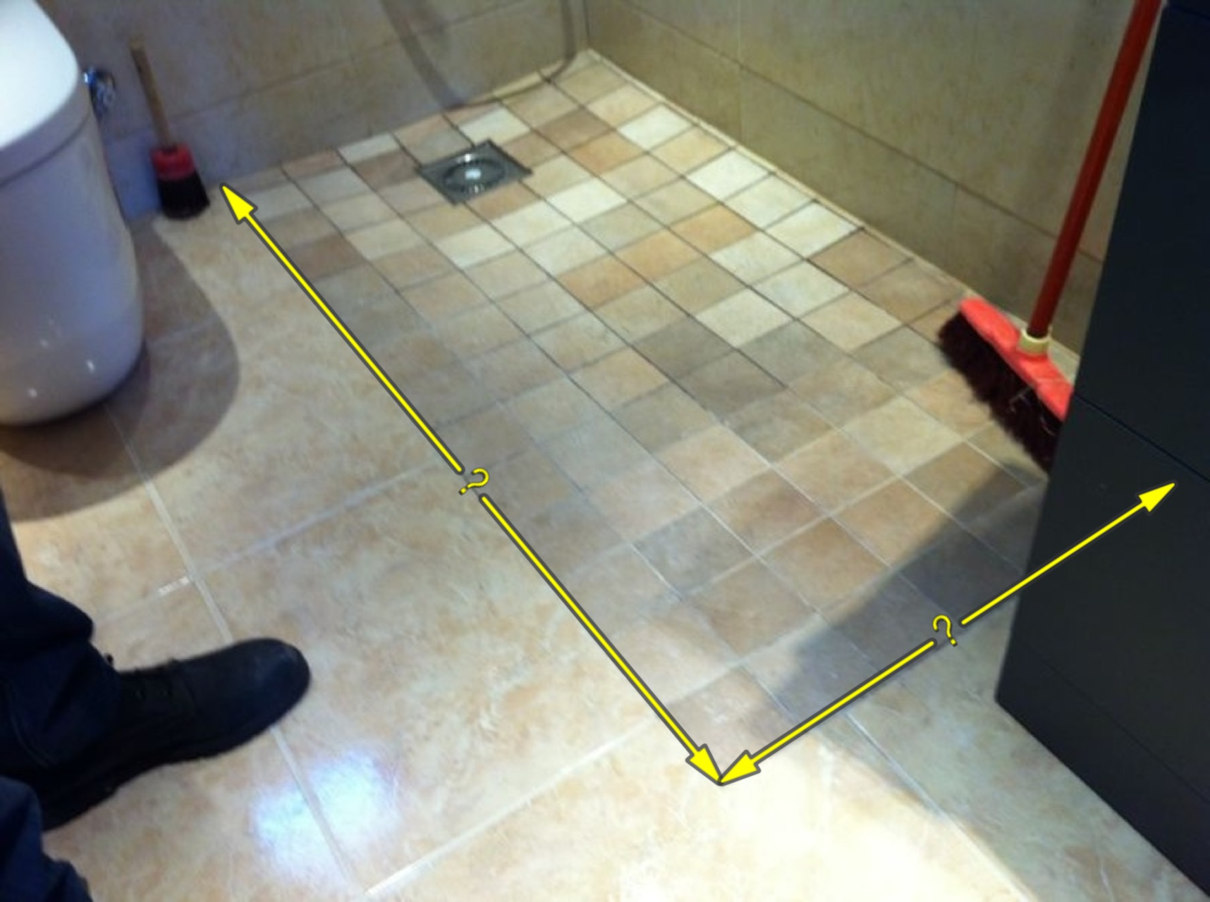 Como montar una mampara de ba o la cristaler a de barcelona for Llave de ducha pared